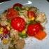 Insalata fredda con bocconcini di soia