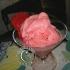 Gelato di fragole